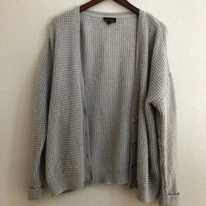 Topshop Sweaters - Topshop open knit cardigan angora goat hair blend